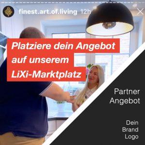 Influencer LiXi Marktplatz Shop Unternehmen Multiplikatoren Event